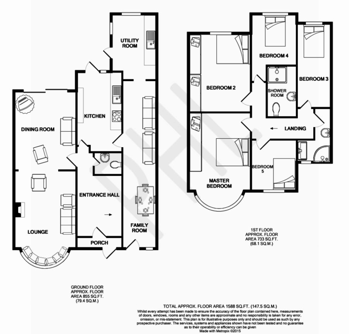 Floorplans For East Lane, Wembley, HA0 3NL