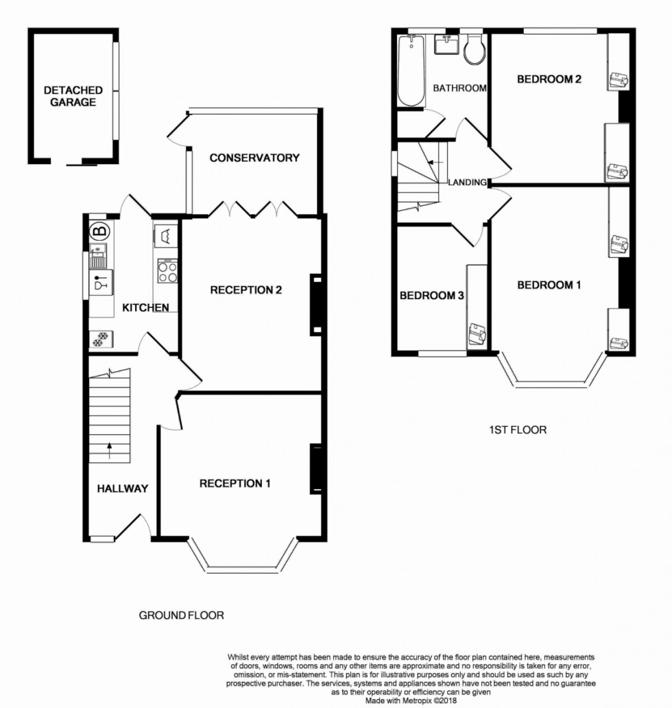 Floorplan for Oldborough Road, Wembley