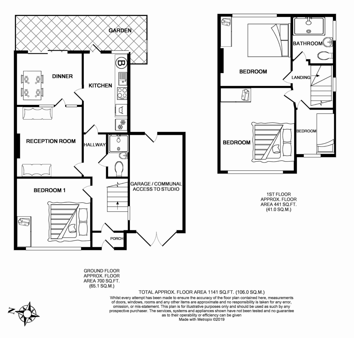Floorplans For Lewis Crescent, London, NW10 0NR