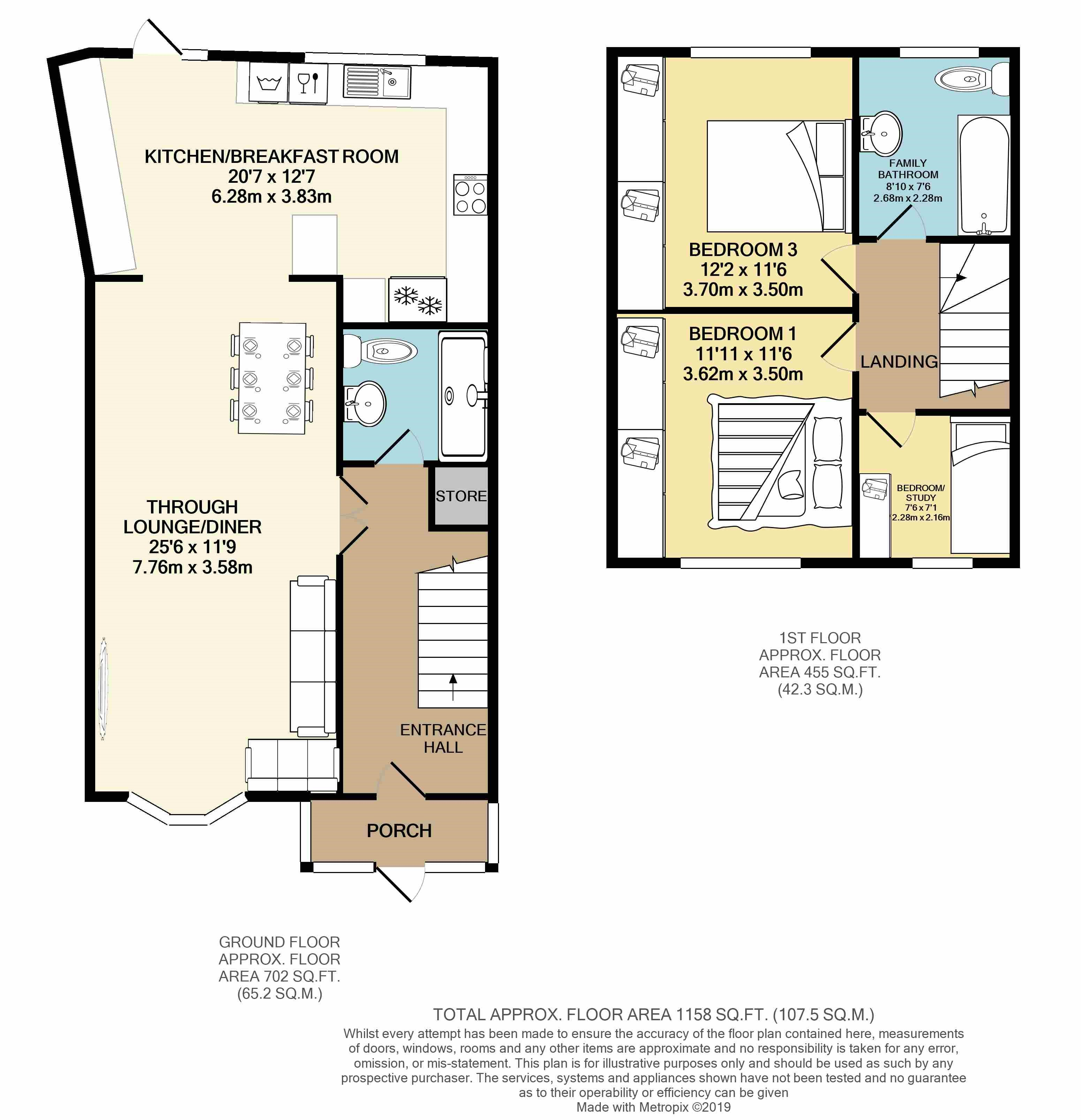 Floorplans For Station View, Greenford, UB6 8PA