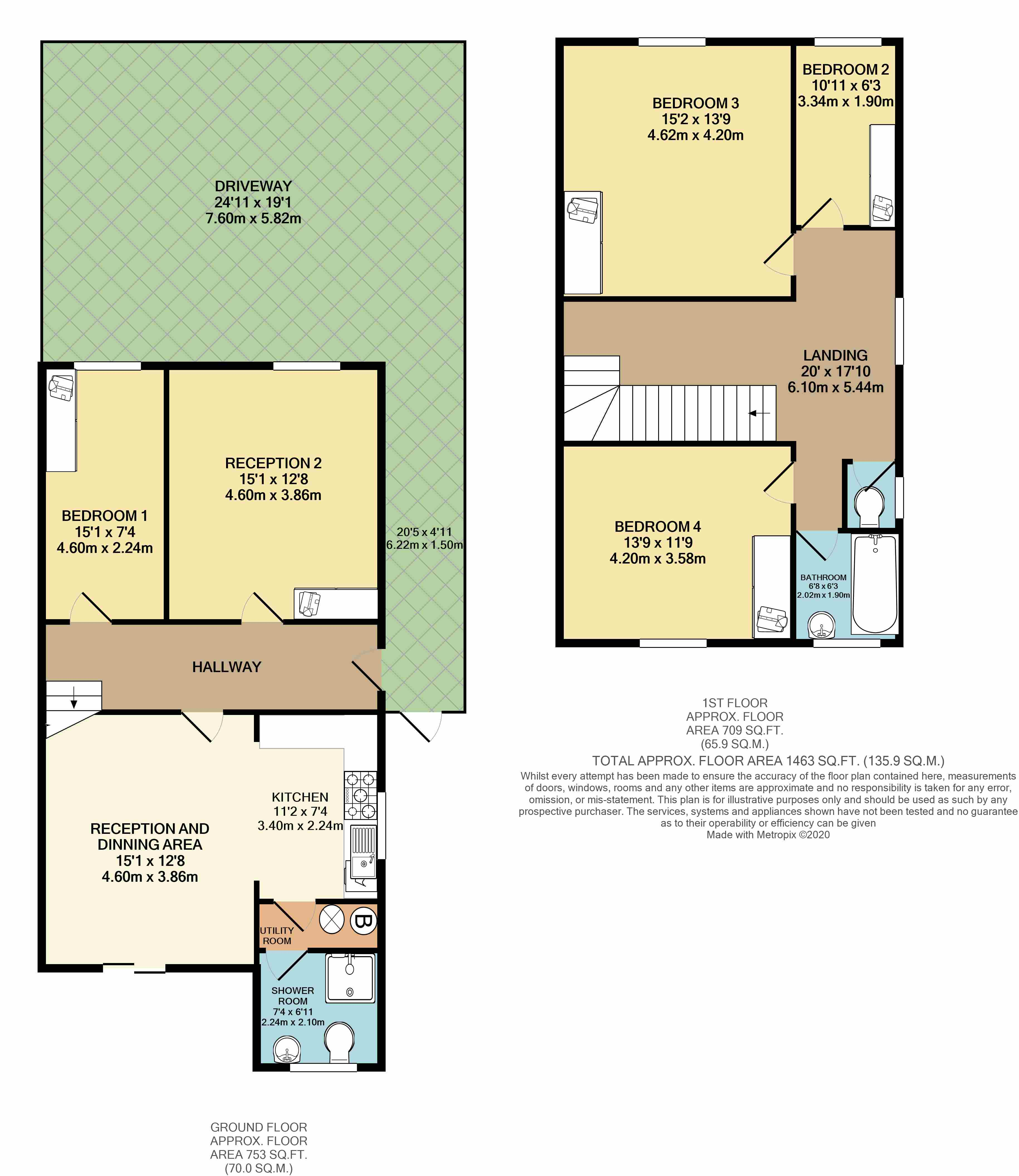 Floorplans For Bowrons Avenue, Wembley,HA0 4QP