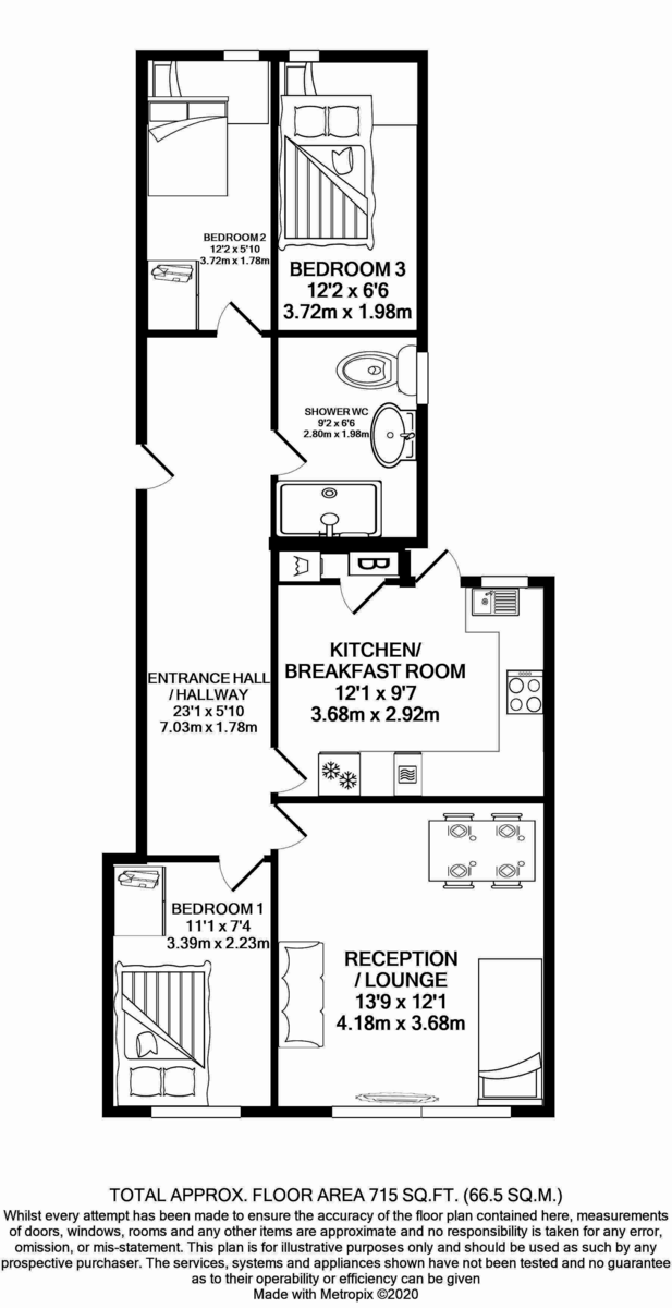 Floorplans For Ealing Road, Wembley, HA0 4QG