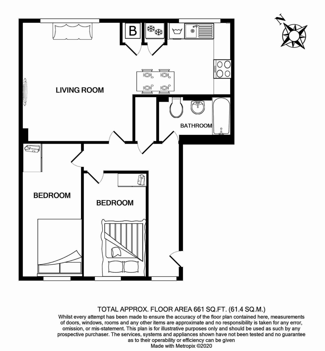 Floorplans For Cleveland Way, London, E1 4UF