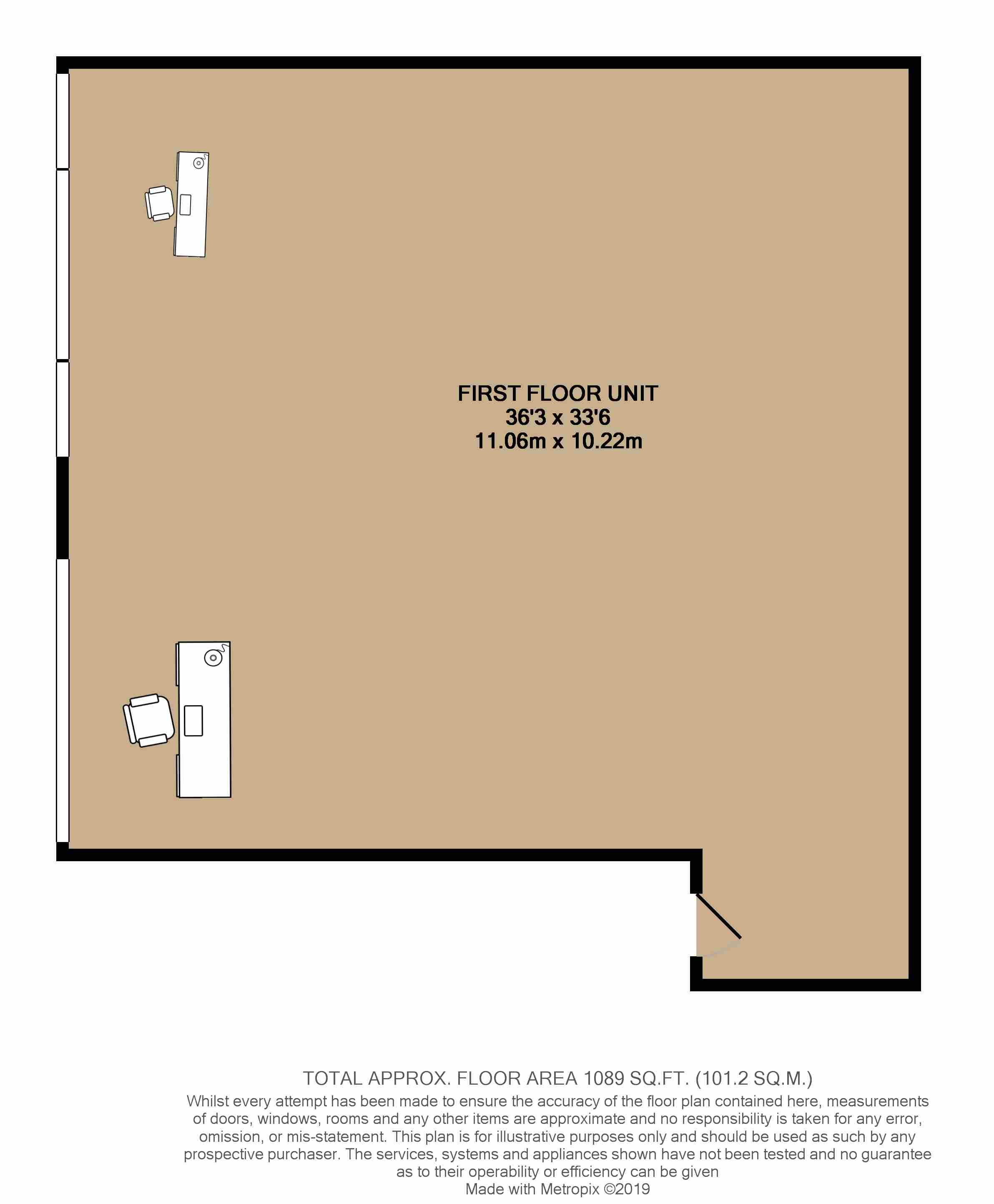 Floorplans For First Floor unit, UB5 5QQ
