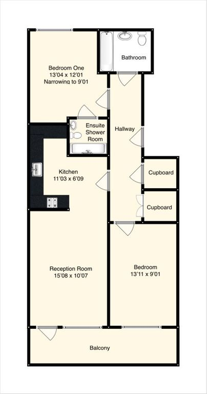 Floorplans For Ladysmith Road, Harrow