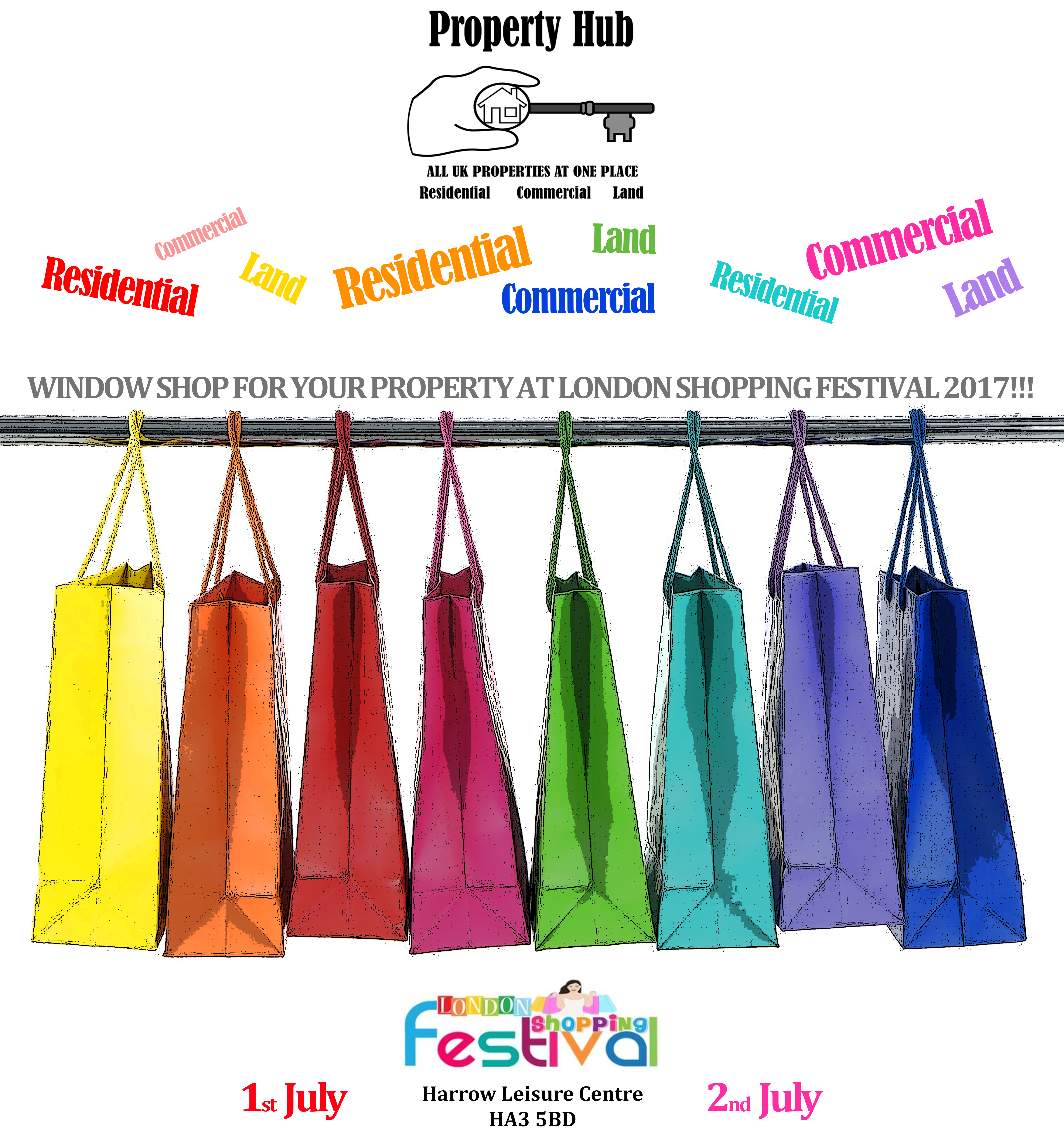 London Shopping Festival 1st and 2nd July 2017