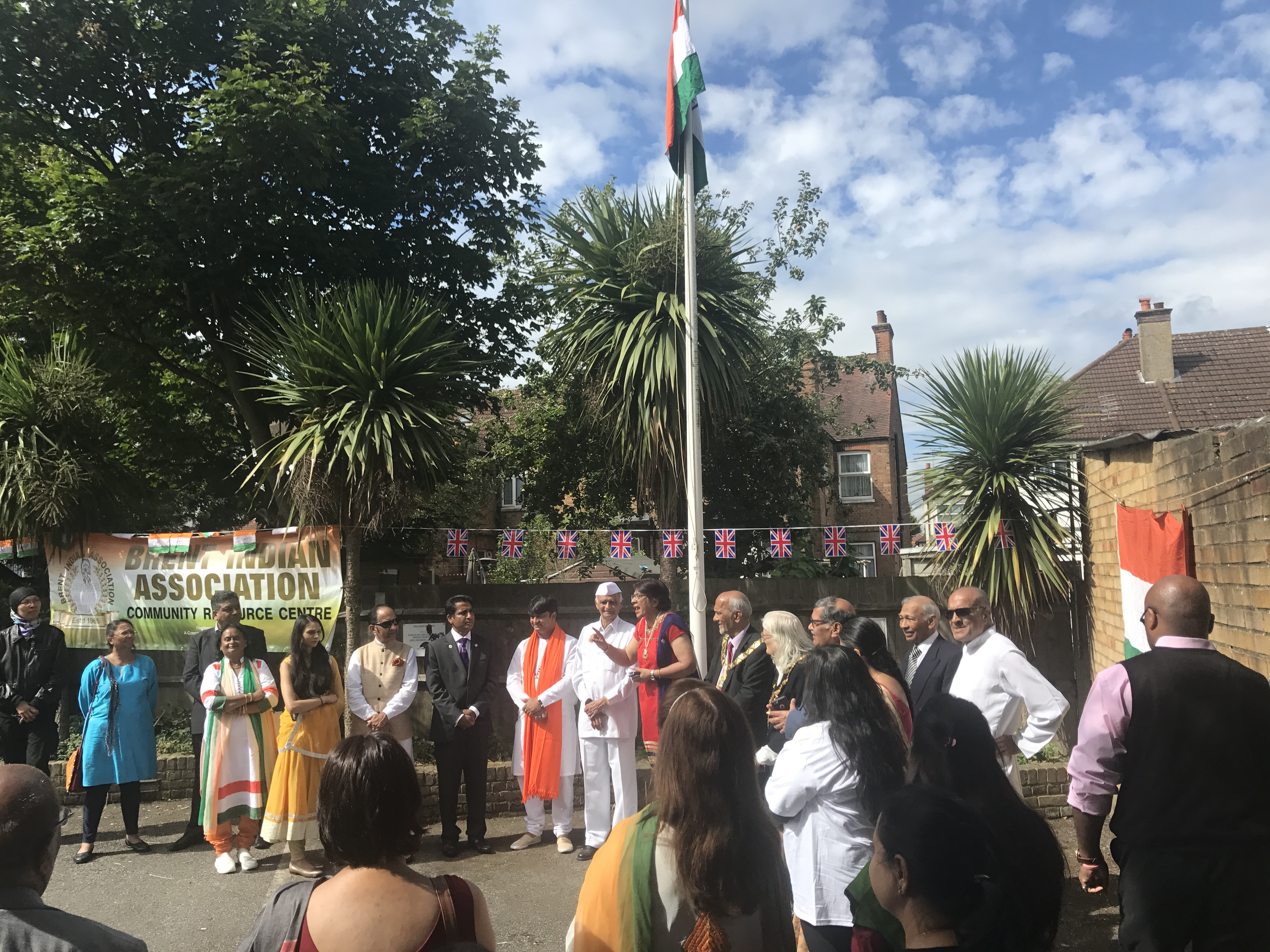 Property Hub celebrated India's 71st Independence Day along with Brent Indian Association and other local communities.