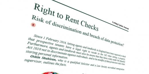 Suspend Right to Rent' say landlords as Home Office reconvenes panel
