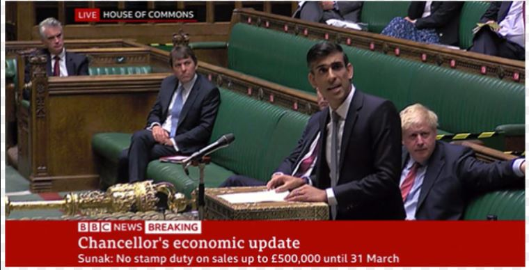 Budget announcement by Rishi Sunak means no stamp duty will be liable until 31 March 2021 on first